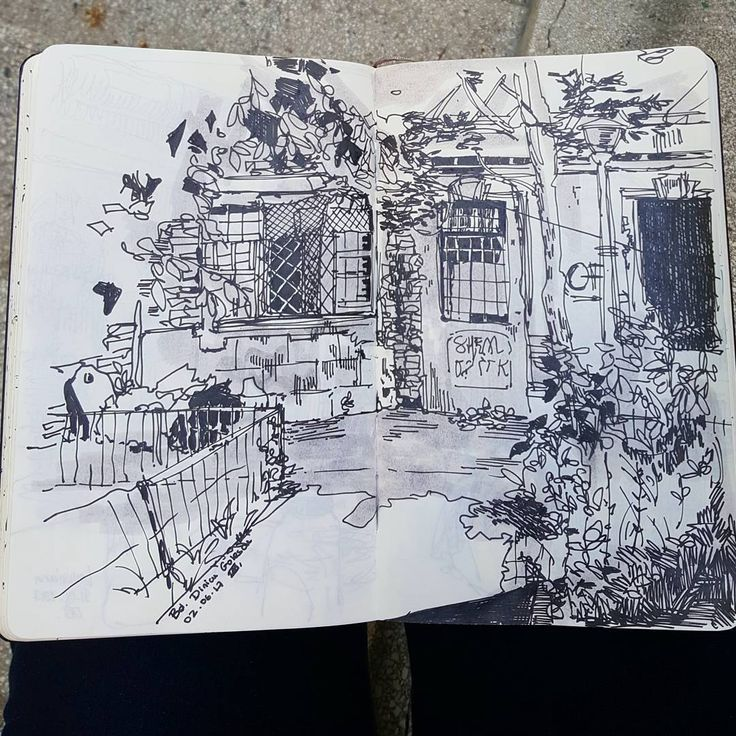 559 отметок «Нравится», 5 комментариев — Laurie (@lau.rie.mrt) в Instagram: «I watched a sketching session about planes today, and got motivated to add midtones to sketches.…»