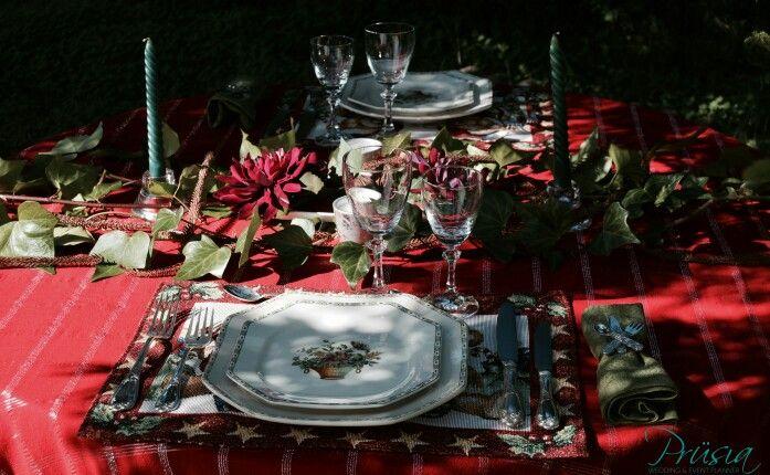 Inspirarse para montar mesas así de curradas!! #nochebuena #navidad #eventos #organizadoradeeventos Photo: Prüsia