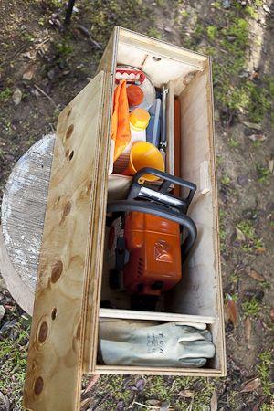 Chainsaw box-7666