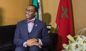 2016-11-18 At COP22, the African Development Bank's president, Akinwumi Adesina, tells of strategies to improve energy supplies and fight the impact of climate change.