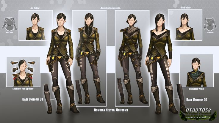 uniform concepts (Star Trek Online)