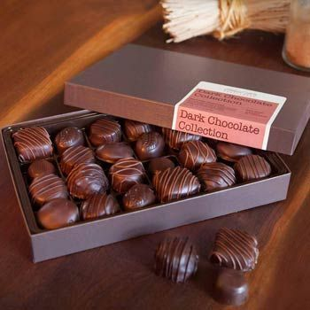 Ethel M® Dark Chocolate Gift Box. See more gifts at www.pro-gift-baskets.com!