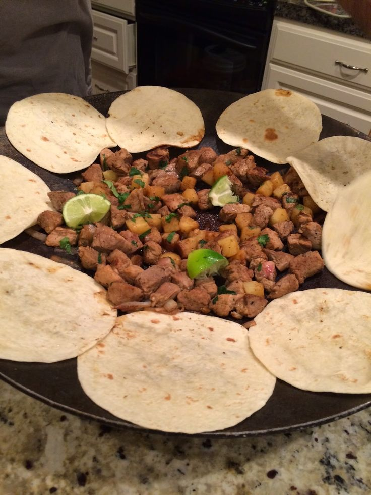 Discada Recipe Of The Week Spicy Pork Pineapple Tacos