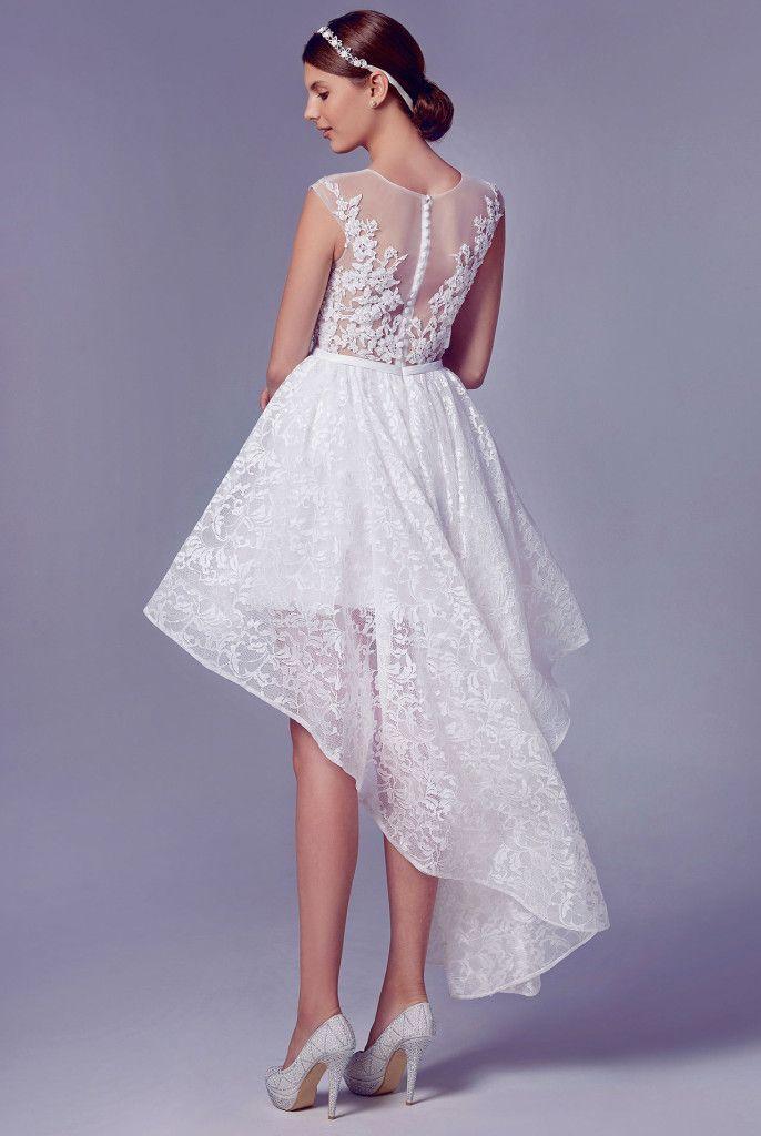 2 Piece Wedding Gown