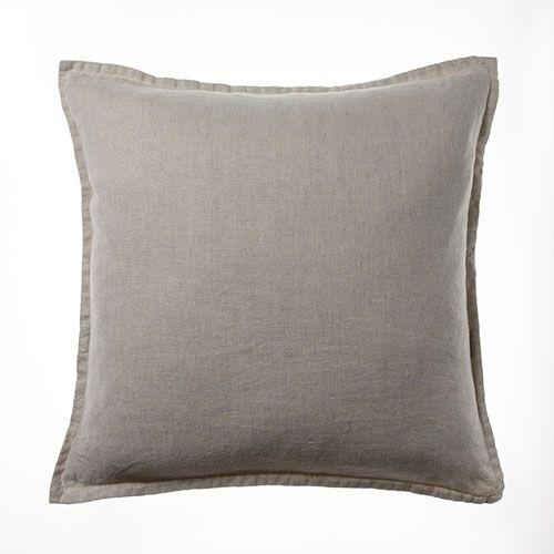 Belgian Vintage Washed Linen Cushion