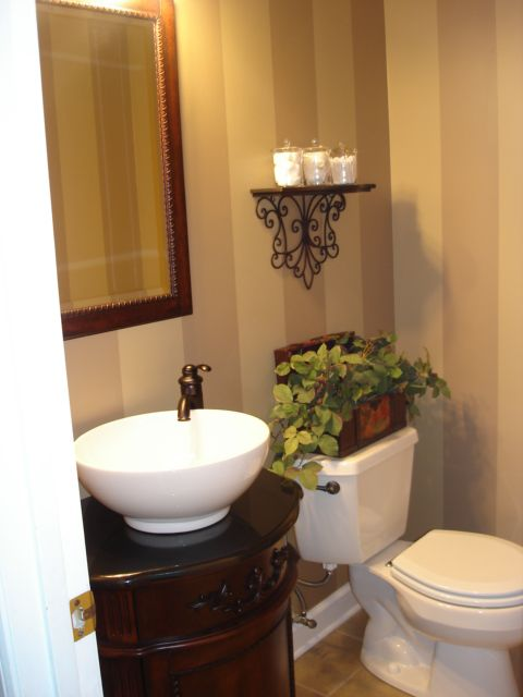 Awesome Websites This gallery shares beautiful half bathroom ideas Whether or not you like to think of it as such your half bathroom is an oasis for both yourself and