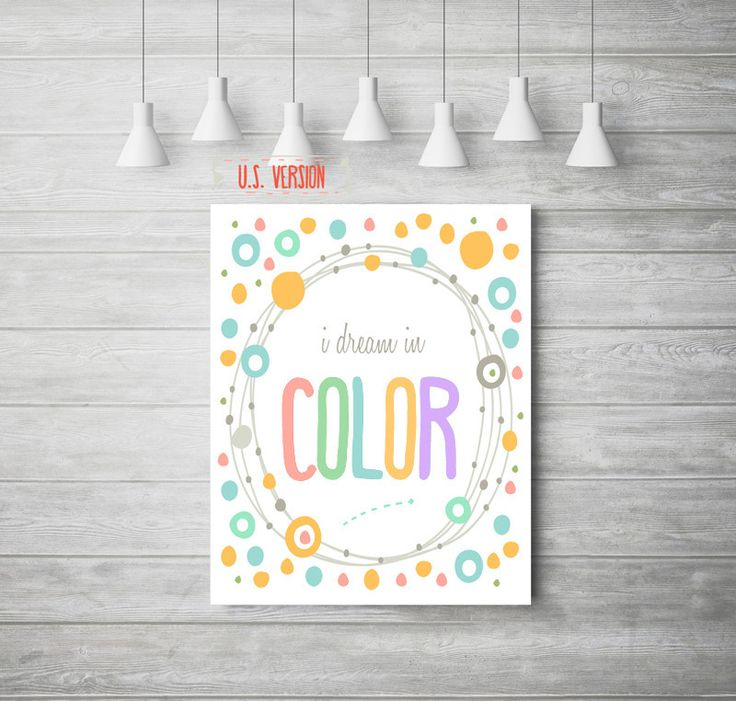 'Dream in Colour' Print