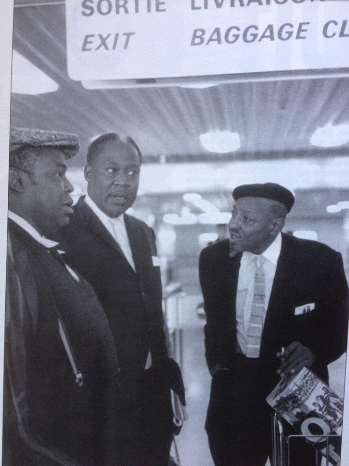 Willie Dixon, Memphis Slim and Sonny Boy Williamson II - Photograph: Jean-Pierre Leloir.