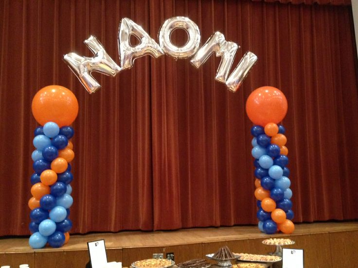 Name Arch Attached To 2 Balloon Columns Www