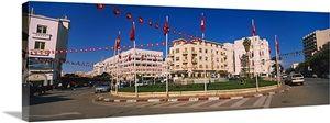 Buildings in a city, Sfax, Tunisia