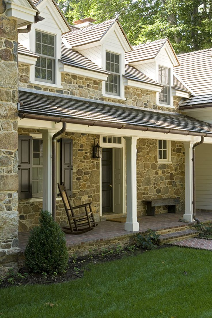 Great stone home home exteriors pinterest for Rock for house exterior