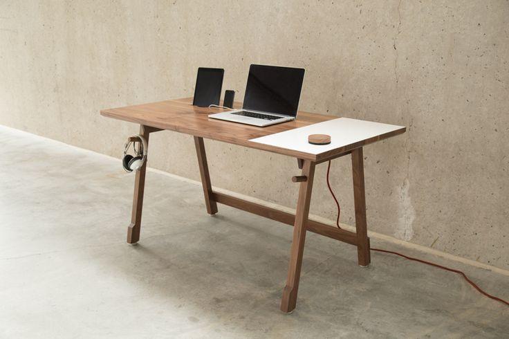 L'Artifox, un bureau épuré mais fonctionnel.