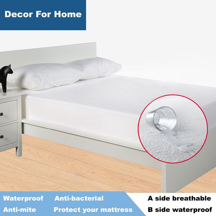 BUY now 4 XMAS n NY. Terry Waterproof Mattress Protector  Cover For Bed Wetting And Bed Bug Suit For Russian Mattress Size 160X200cm  *~* Just click the image for detailed description on  AliExpress.com #giftwrapping