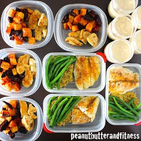 PEANUT BUTTER AND FITNESS: Short Week Meal Prep