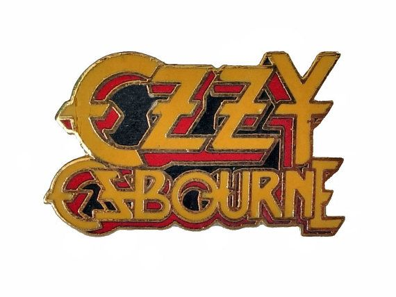 """OZZY OSBOURNE vintage enamel pin badge button BLaCK SaBBATH heavy metal rock concert by VintageTrafficUSA  11.00 USD  A vintage Ozzy Osbourne pin! This Ozzy pin was made approx 1983. Excellent condition. Measures: approx 1"""" 20 years old hard to find vintage high-quality lapel/pin. Beautiful die struck metal pin with colored glass enamel filling. Add inspiration to your handbag tie jacket backpack hat or wall. Have some individuality = some flair…"""