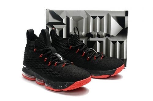 los angeles b7ea0 5dab2 Where To Buy Youth Big Boys Lebron 15 Bred Black Sport Red 2017-2018 NBA  Seasons