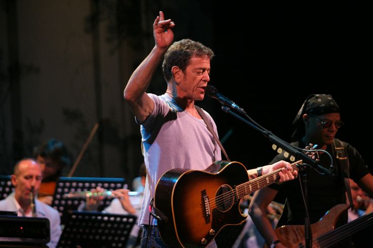 Lou Reed at Sydney Festival. #LouReed