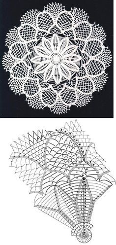 Lace Crochet Doily...♥ Deniz ♥