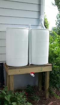 A Spouse's Guide to Building  the Perfect Rain BarrelSystem