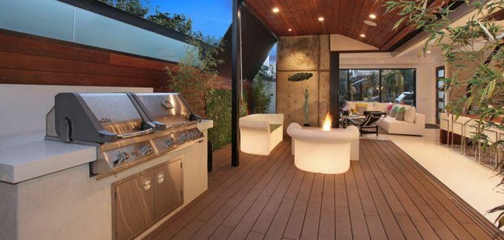 terraza diseñada por Brandon Architects