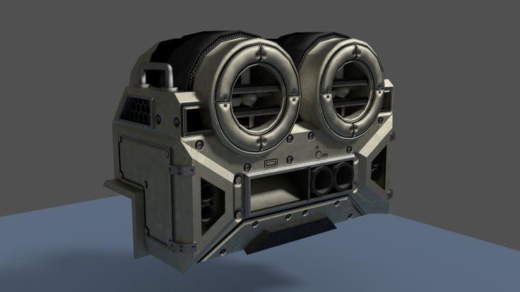 Random Sci-Fi air conditioner