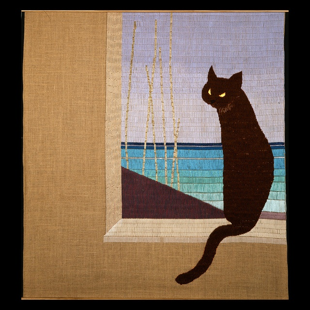 Needlework tapestry by Laura Marcucci Cambellotti