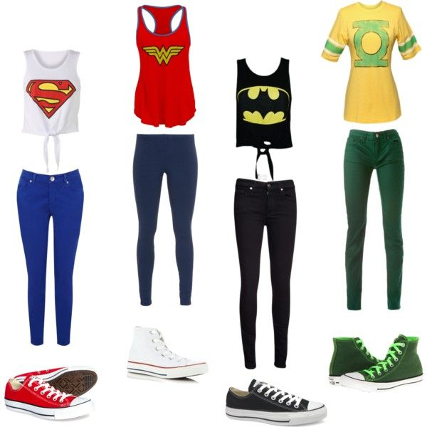 """""""The Justice League"""" by cdis on Polyvore"""