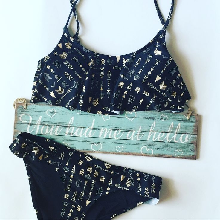 Pretty Me Erato Black Arrow bikini
