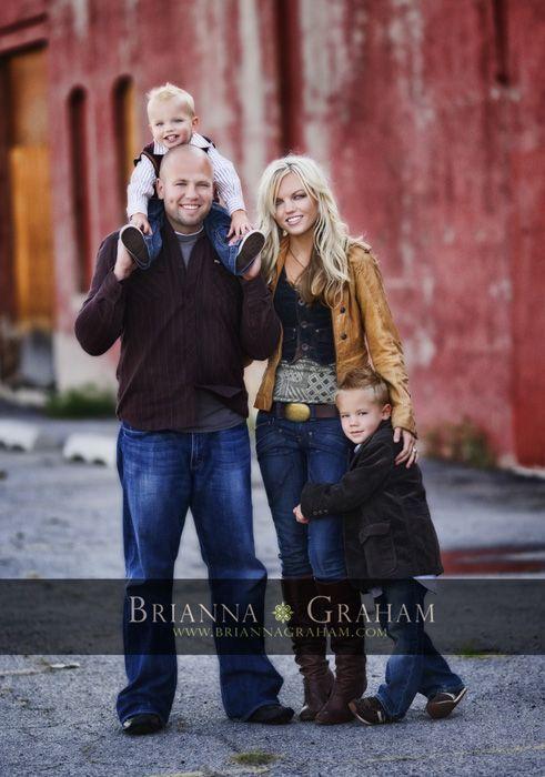 Beautiful family photo