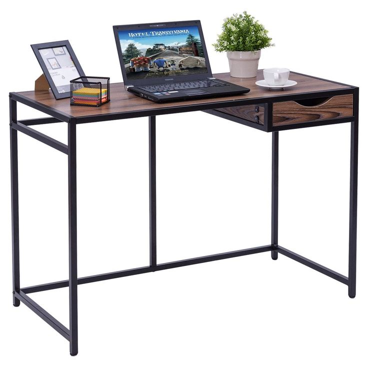 Oversized Wood And Metal Laptop Table: Best 25+ Laptop Table Ideas On Pinterest