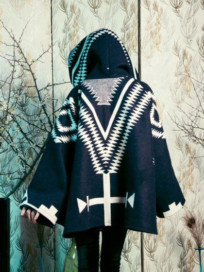Lindsay Thornburg Pendleton Cloak