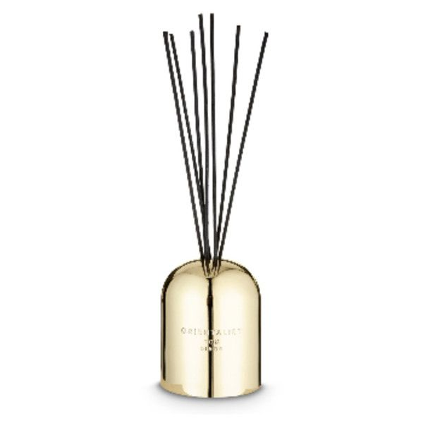 Orientalist Eclectic Brass Diffuser (4.975 RUB) ❤ liked on Polyvore featuring home, home decor, home fragrance, reed diffuser, fragrance reed diffuser, scent diffuser, rose diffuser and tom dixon