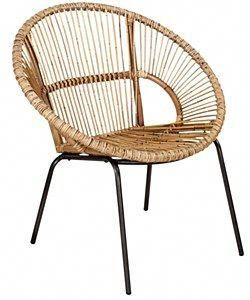 31 Round Metal Woven Rattan Chair Roundwickerchair Round
