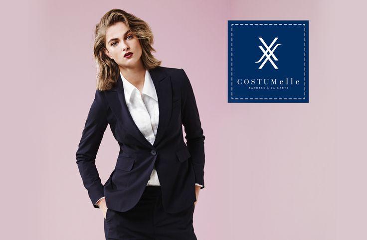 Parce que chaque femme est unique, Xanders est la première marque de mode belge à lancer le sur-mesure pour femme. Costumelle est synonyme de costumes, tailleurs et blouses de haute qualité pour femmes, chaque ensemble étant conçu selon les propres préférences.