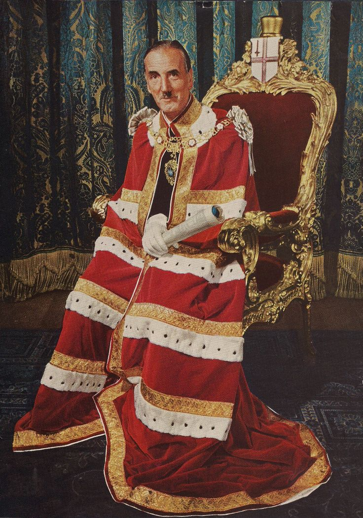 The Lord Mayor of London at the time of the coronation of