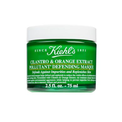 Review, Ingredients: Kiehl's Cilantro & Orange Extract Pollutant Defending, Turmeric & Cranberry Seed Energizing Radiance Masque
