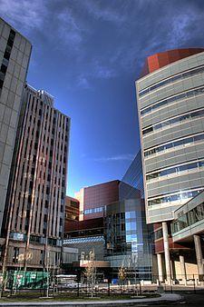 University Of Alberta hospital Edmonton Alberta Canada. Teaching and research hospital.