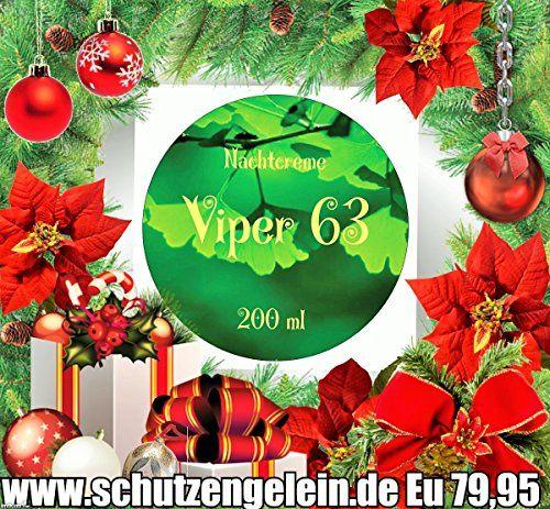 Viper 63 Nachtcreme, Hyaluroncreme Gingko, Weihnachtsangebote? Einhorncreme http://www.amazon.de/dp/B018Z9R9JC/ref=cm_sw_r_pi_dp_xNTywb1X2VDTA