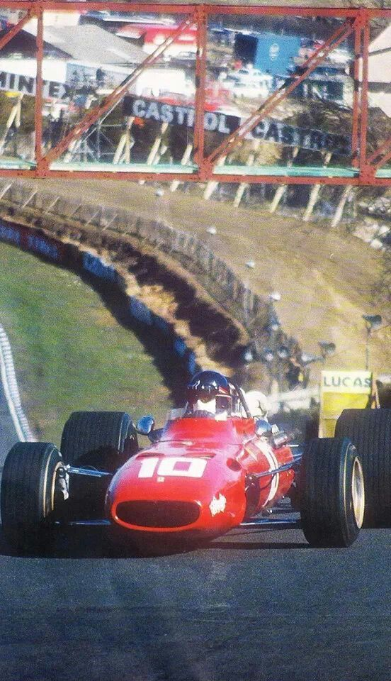 Andrea de Adamich, Brands Hatch, British GP 1968.