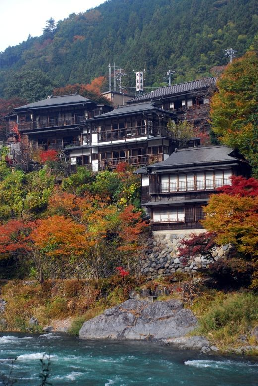 You should come and visit in Autumn. This is historical hotel, It is countryside of Tokyo.