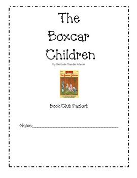 The Boxcar Children Book Club Comprehension Pack **Freebie**