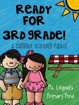 Summer learning packet for the end of 2nd / summer before 3rd!  110 pages of student material so you can use some at the end of the year and send some home.  Super parent-friendly and no prep required!  Reading, writing, and math. $