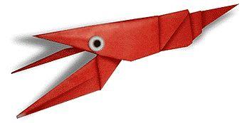 Origami Crawfish