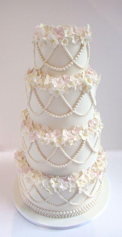 Wedding Cake By Kate Green Cakes, Ottawa, Ontario - (kategreencakes)