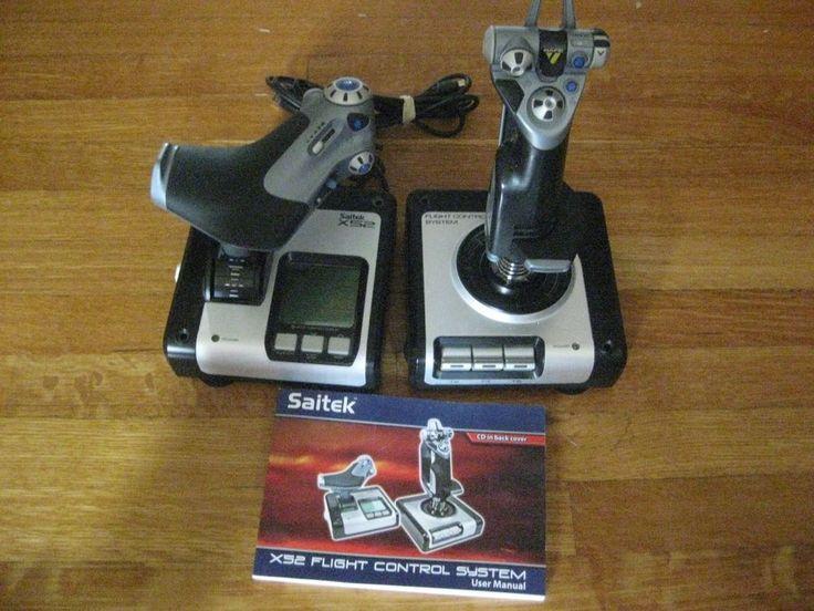 saitek x52 flight control system, flight simulator joystick and throttle: $79.99 End Date: Wednesday Mar-7-2018 11:06:43 PST Buy It Now for…