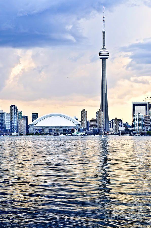 Toronto skyline Photograph  - Toronto skyline Fine Art Print