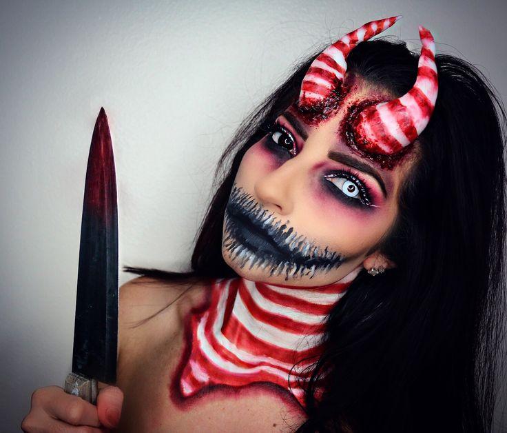 175 best halloween images on pinterest artistic make up makeup artistry and beauty makeup. Black Bedroom Furniture Sets. Home Design Ideas
