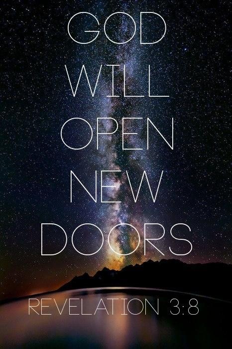 New doors that no man can shut. – Lea Licht
