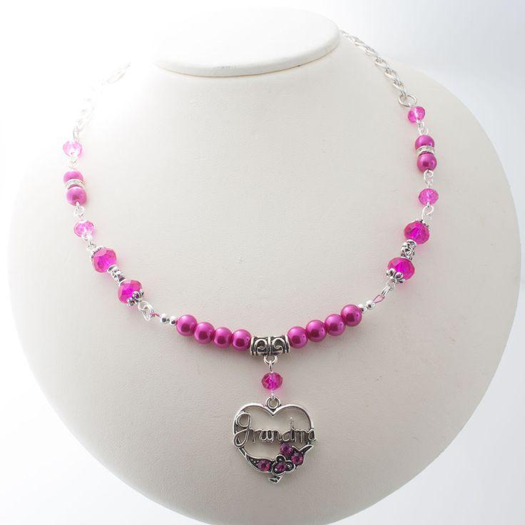 Unique Rabbit Jewellery - Grandma Love Necklace, $28.00 (http://www.uniquerabbitjewellery.com.au/grandma-love-necklace/)