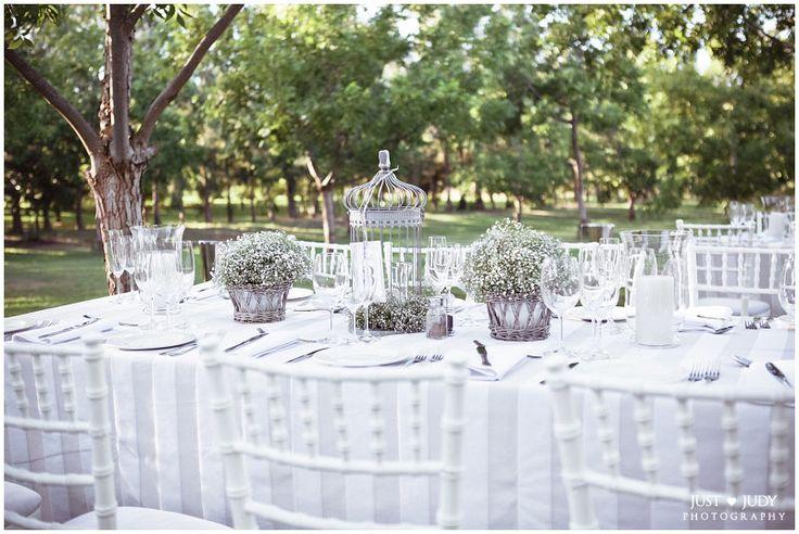 Outdoor #wedding setup under Pecan trees @judystofberg #photography
